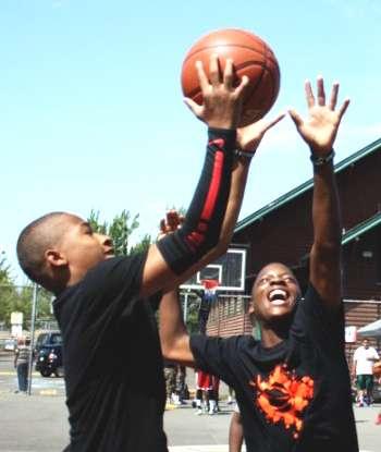 Peace N The Hood Basketball