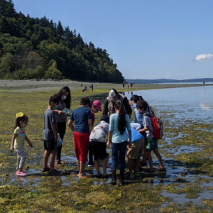 New Futures students visit The Environmental Science Center